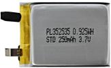 Akumulator Li-Pol 250mAh 3.7V 3.5x25x35mm