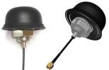 Antena GPS przykręcana 3m RG174 SMA(m) śruba M20