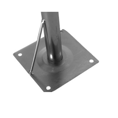 Maszt antenowy h=105, w=30, fi=38mm, 4x10mm