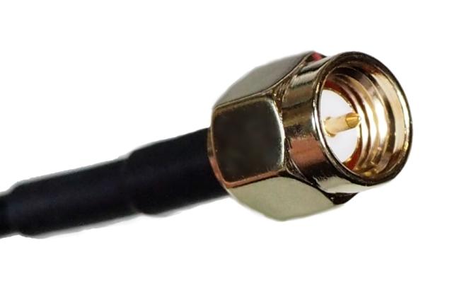 JC ANTENNA Antena combo GPS/GSM 2.5m RG174 2xSMA(m)