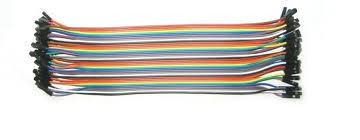 Przewody połączeniowe żeńsko-żeńskie 20 cm