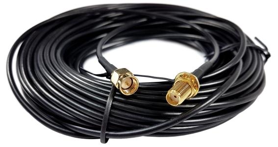 Kabel SMA (f) - SMA (m) 5m RG174