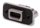 Gniazdo miniUSB AB 2.0 5-pin THT R/A