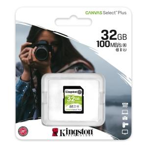 KINGSTON Karta pamięci KINGSTON SDHC 32GB 100MB/s CSP