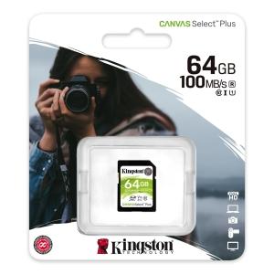 KINGSTON Karta pamięci KINGSTON SDHC 64GB 100MB/s CSP