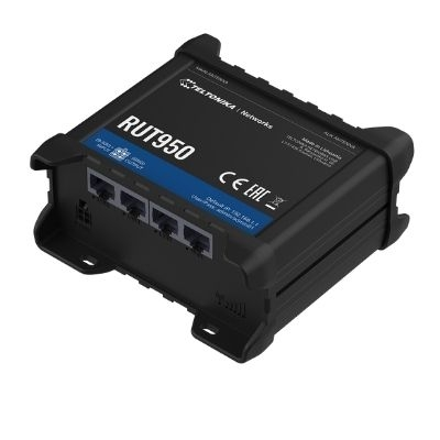 TELTONIKA UAB Router RUT950 4G z WiFi 4xRJ45 DualSim 4x antena