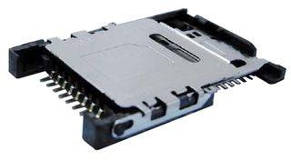 AMPHENOL SOCAPEX Gniazdo SIM/micro SD SMD