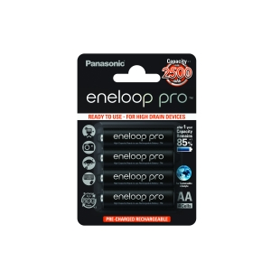 Akumulatorki 4szt. Eneloop R06 AA2500mAh box