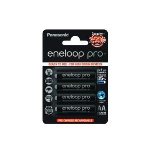 Akumulatorki 4szt. Eneloop R06 AA2500mAh + Etui