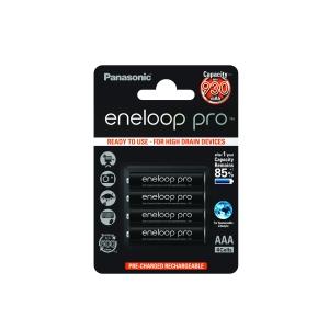 Akumulatorki 4szt. Eneloop R03 AAA 950mAh + etui