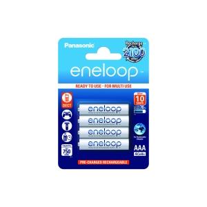 Akumulatorki 4szt. Eneloop R03 AAA 800mAh + etui