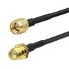 Przewód SMA (f) - SMA (m) 10m kabel RG58