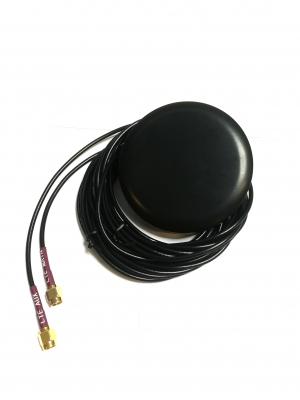 Antena LTE GPS WiFi 3m RG174 2xSMA(m) SMA-RP(m)