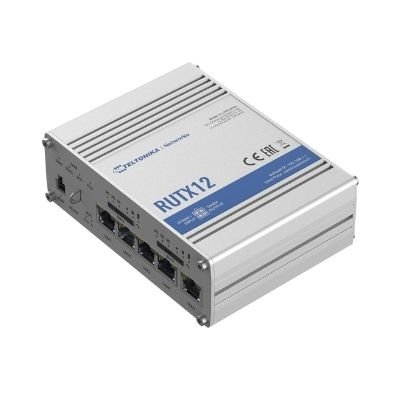 TELTONIKA UAB Router RUTX12 LTE/WiFi/BL 5xRJ45 2xSIM GNSS