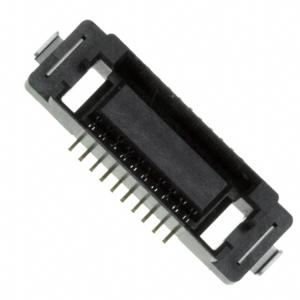 JAE, Złącze gniazdo 0.8mm 2x10pin SMD pozłacane