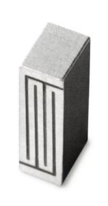 Antena ceramiczna 868MHz 1.4dBi wys.4mm