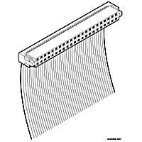 FCI, Złącze gniazdo IDC 2x8pin 2mm