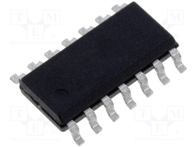 ON SEMICONDUCTOR Komparator QUAD SGL 14-SOIC
