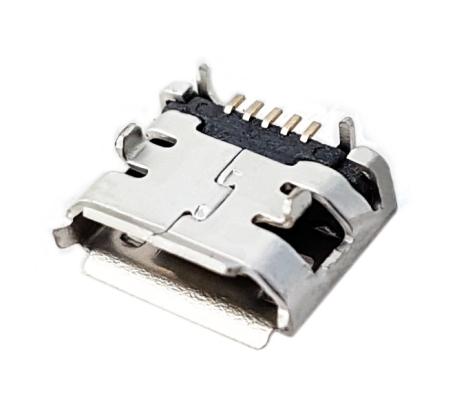 Złącze micro USB gniazdo typB 5pin cyna SMT piny