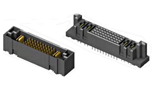 SAMTEC Wertykalne pozłacane złącze zasilania locking clip