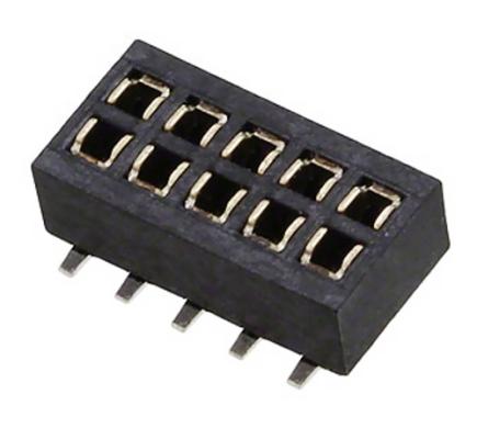 HARWIN Gniazdo 10-pin (2x5) 1.27mm SMD
