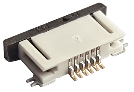 Konektor FPC 6pin 0.5mm SMD