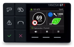 NEPTIS Yanosik GTR - antyradar z ekranem dotykowym