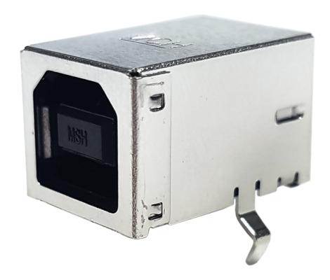 MOLEX Złącze USB 2.0 Typ B 4pin kątowe THT