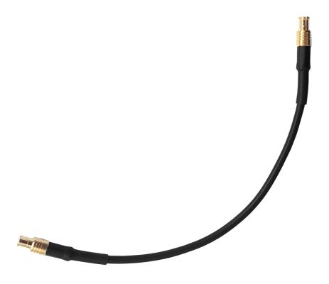 Przewód kabel MCX (m) - MCX (m) 150mm RG174
