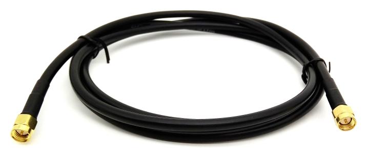 Kabel antenowy SMA (m) - SMA (m) 1,5m RG58