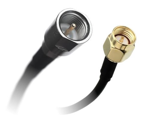 Kabel przejściówka SMA (m) - FME (m) 150cm RG174