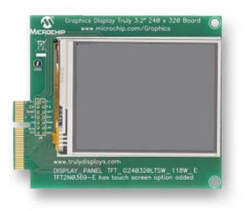 MICROCHIP TECHNOLOGY Graphics Pictail Plus Daughter Board 2