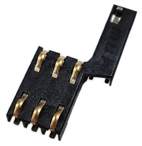 Złącze SIM (85.60×54.00×0.76mm) 6-pin SMD wsuwane