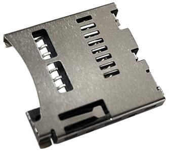 Złącze czytnik kart micro SD 8 PIN push-push SMT