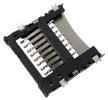 Złącze kart microSD z uchylną pokrywą SMD 8 PIN