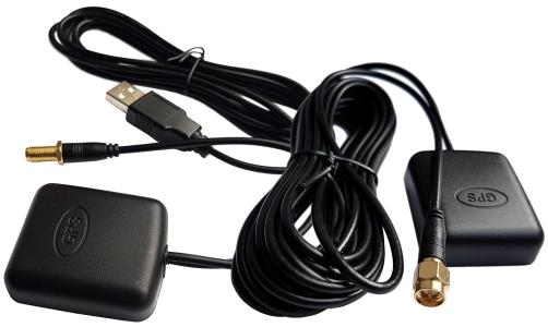 GPS Repeater 5m antena zewn. zasil 5V USB