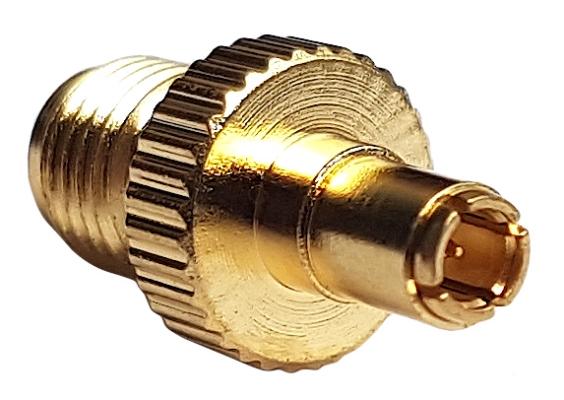 Adapter przejściówka SMA (f) - TS9 (m)