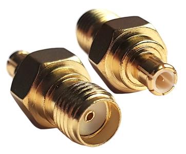 Adapter przejściówka SMA B (f) - MCX (m)