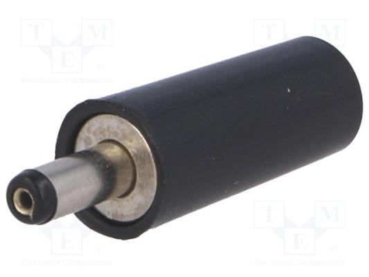 Wtyk DC, żeński, 3.8mm, 1mm, na przewód