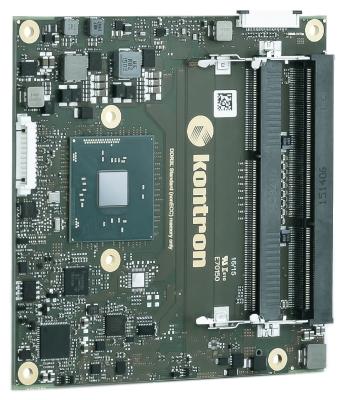 Komputer modułowy Kontron COMe-cBW6 N3160