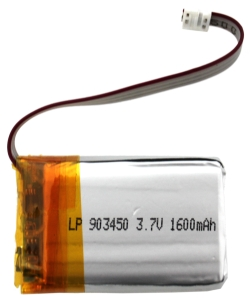 LP903450 3.7V 1600mAh PCM złącze Molex