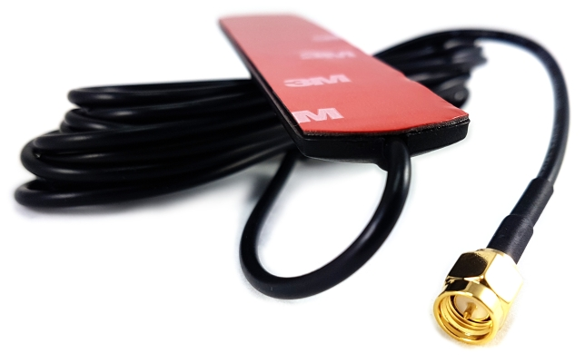 JC ANTENNA Antena GSM UMTS 3dBi przyklejana SMA (m) 3m RG174