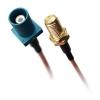 Kabel przejściówka SMA (f) - FAKRA (m) 20cm RG178