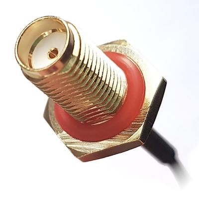 Przewód u.FL (f) - SMA (f) 1.13mm 50mm wodoodporny