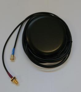 Antena combo GPS LTE przykr. 2.5m RG174 SMA SMA-RP