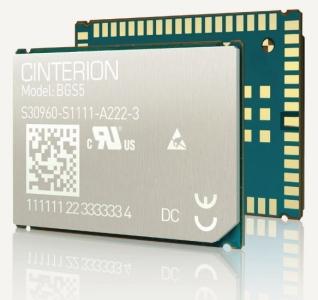 BGS5 moduł Cinterion