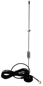 Antena GSM UMTS LTE magn. 5-7dBi SMA(m) RG174 1.5m