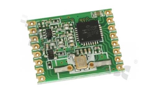 HopeRF, Moduł TRX FSK 868MHz SPI 1.8-3.6V 20dB SMD