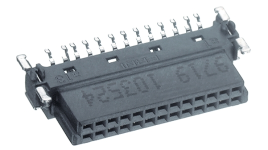 ERNI Gniazdo SMC poziome 80P, 154744