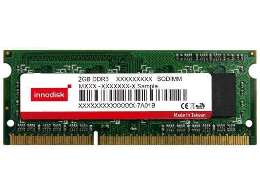 INNODISK Pamięć DDR3 SO-DIMM 2GB 1333MT/s 256Mx8 Innodisk